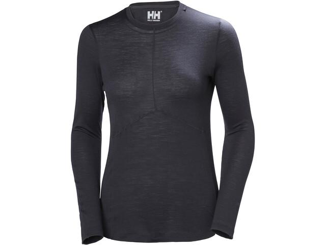 Helly Hansen HH Merino Light LS Shirt Women ebony